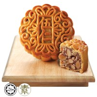 Origins Delights Assorted Fruits & Nuts Mooncake 1pc x 180g + Free Gift