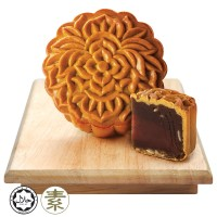 Origins Delights Chrysanthemum Red Dates Mooncake (Ardent Rhapsody) 1pc x 180g + Free Gift