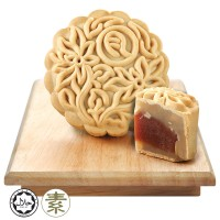 Origins Delights Multi-Grain & Red Dates Mooncake 1pc x 180g + Free Gift